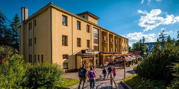 Letný pobyt v historickom Hoteli Smokovec***