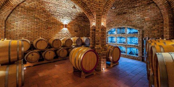 Degustácia vína s prehliadkou pivnice