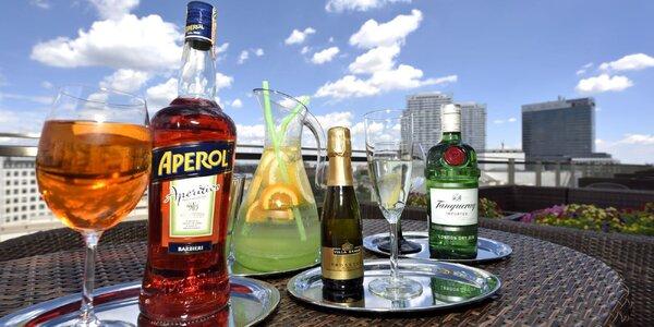 Schlaďte sa drinkom v Crystal Business Clube