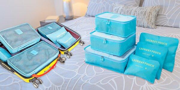 Praktické cestovné tašky a organizéry na cesty