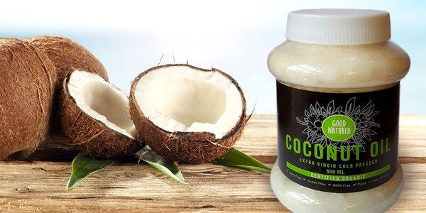 BIO kokosový olej pre zdravie, krásu i do kuchyne