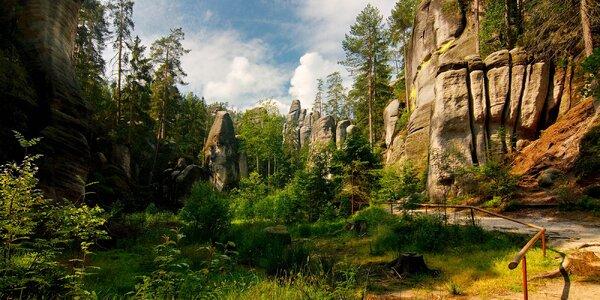 Jesenný pobyt neďaleko Adršpašsko-Teplických skál
