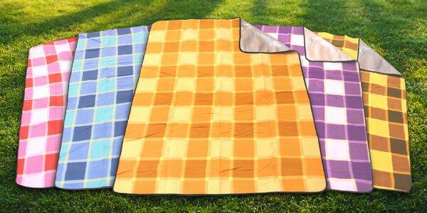 Piknikové deky s alu fóliou