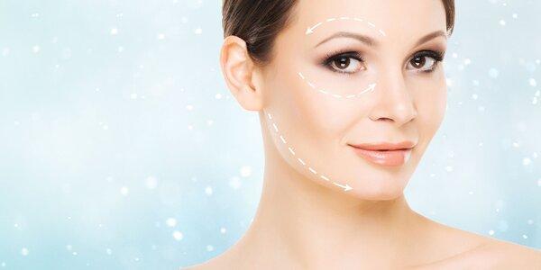 Ultrazvukový lifting tváre alebo aplikácia botulotoxínu