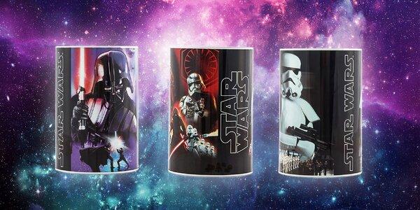 Plechová pokladnička pre deti Star Wars