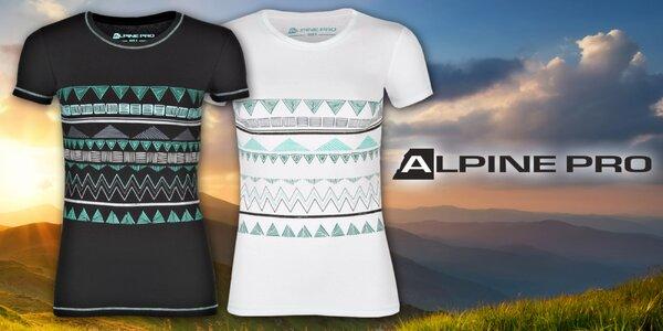 Dámske bavlnené tričká Alpine Pro