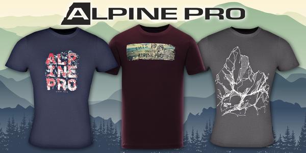 Pánske tričká Alpine Pro