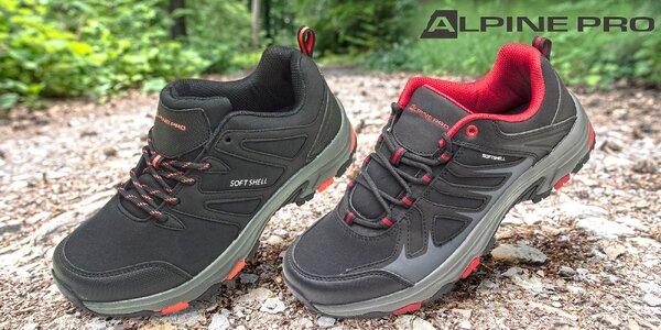 Pohodlná športová softshellová obuv Alpine Pro