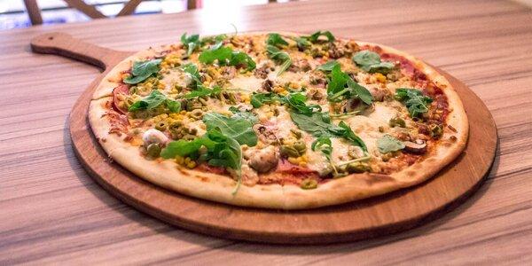 XXL pizza v Bamba Lina
