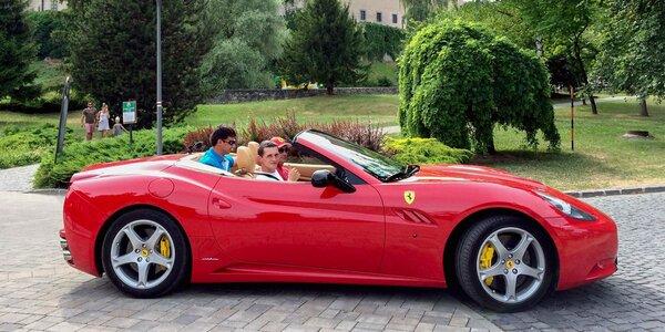 Jazda na Ferrari California F1 - ako vodič alebo spolujazdec