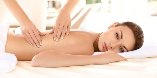 Klasická masáž chrbta, masáž lávovými kameňmi alebo Breussova masáž
