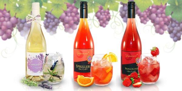 Perlivé vínne nápoje - to pravé letné osvieženie