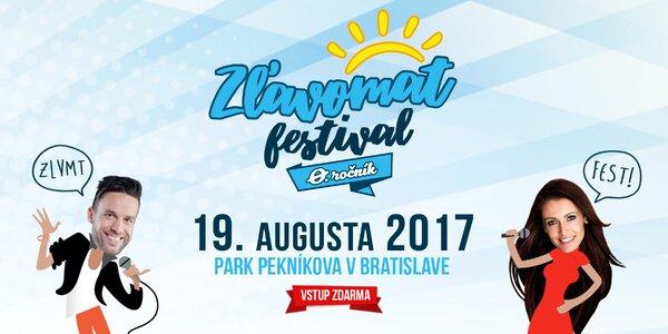 Nultý ročník Zľavomat Festivalu otvára svoje brány