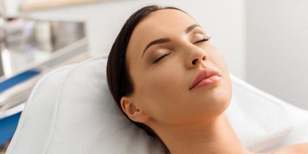Odstránenie mílií na tvári technológiou Skin line