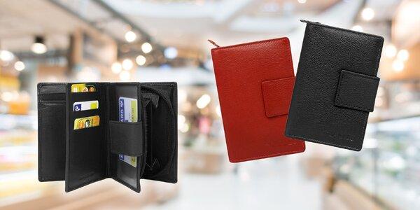 Dámska značková kožená peňaženka