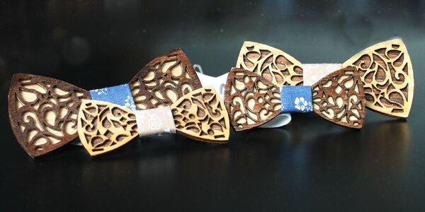 Trendy hendmejd drevené motýliky, aj pre deti