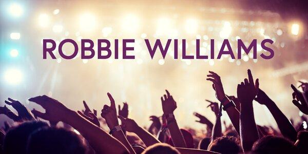 Zažite ROBBIEHO WILLIAMSA zblízka!