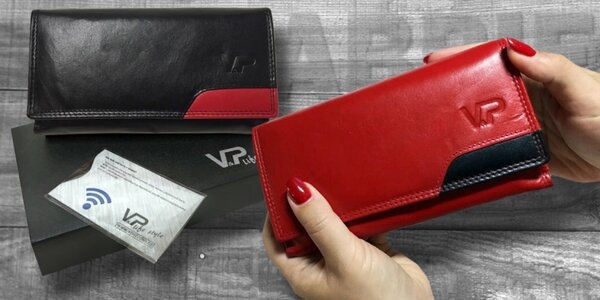 Luxusné kožené peňaženky
