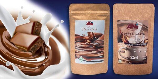 Káva alebo čokoláda s hubou Reishi