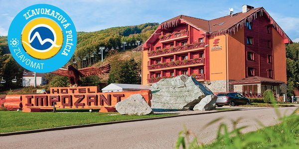 Wellness Hotel Impozant**** s aktivitami v srdci Valčianskej doliny