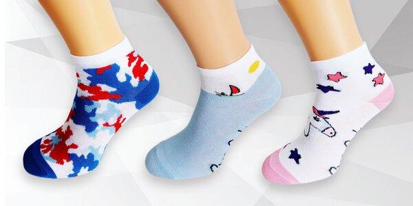 Dámske Crazy Socks bláznivé ponožky