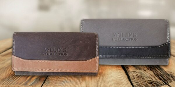Dámska kožená peňaženka Wild