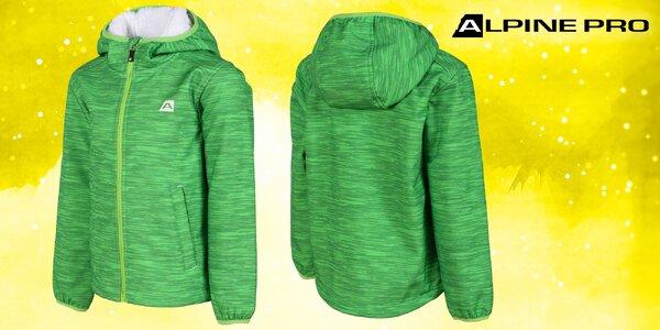 Odolná zateplená bunda Alpine Pro pre deti
