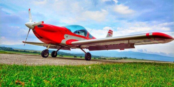 Let lietadlom Viper SD4 alebo Cessna 150