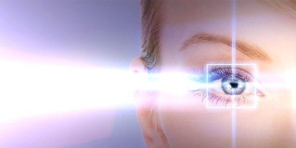 Laserová operácia oboch očí metódou EPI-LASIK