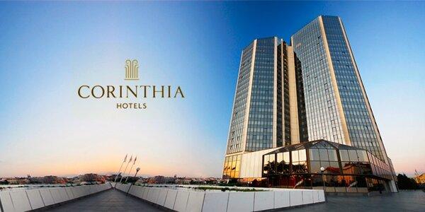 Corinthia Hotel***** - jedinečná wellness dovolenka v Prahe