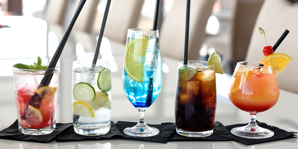 Alkoholické miešané drinky alebo nealko Santiago Lemonade