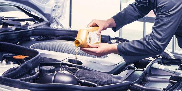 Výmena oleja a olejového filtra
