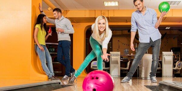 Bowling na 1 hodinu až pre 8 osôb!