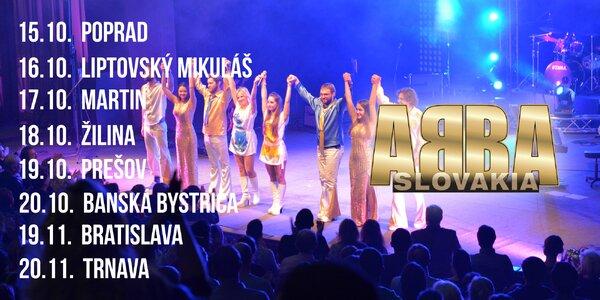 Októbrové turné revivalovej skupiny ABBA Slovakia!
