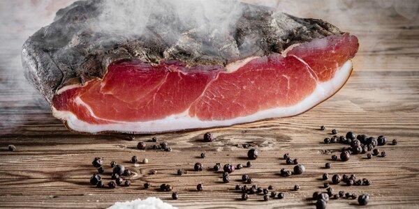 Tirolská slanina od rodinného výrobcu Trocknera