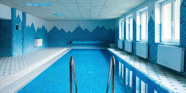 Horský relax s vyhrievaným bazénom, saunou a vírivkou