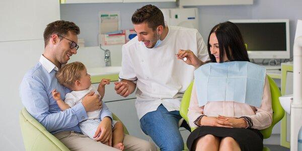 Komplexné vstupné stomatologické vyšetrenie