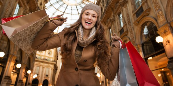 Nákupy a poznávanie adventného Milána