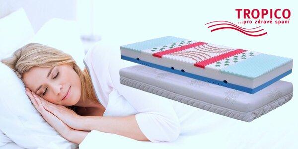 Komfortné matrace Tropico Geltech® Alfa