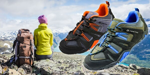 Pánske i dámske outdoorové topánky Alpine Pro