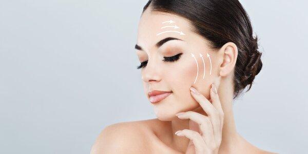 Diamantová mikrodermabrazia alebo lifting tváre ultrazvukom