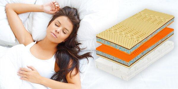 Tuhé matrace z kokosových vlákien a peny Flexifoam® pre náročných spáčov