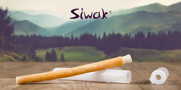 Prírodná kefka Siwak pre zdravé zuby