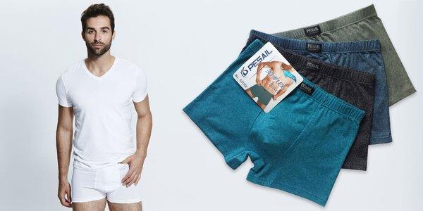 Pánske bavlnené boxerky (3 ks v balení) - aj XXXL