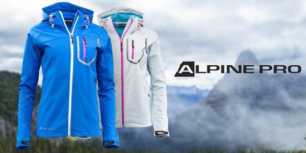 Dámska softshellová bunda Alpine Pro s membránou