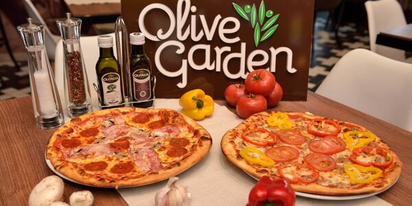 Pizza podľa vlastného výberu v Olive Garden