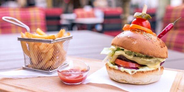 Chutný hovädzí burger len pre Zľavomaťákov