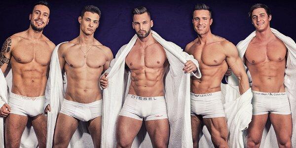 Dámy pozor! Striptízové vystúpenie DREAM MEN SHOW!
