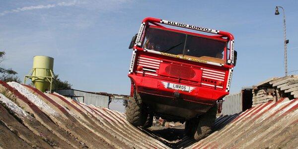 30-minútová jazda v Tatre 813 8X8 Truck Trial