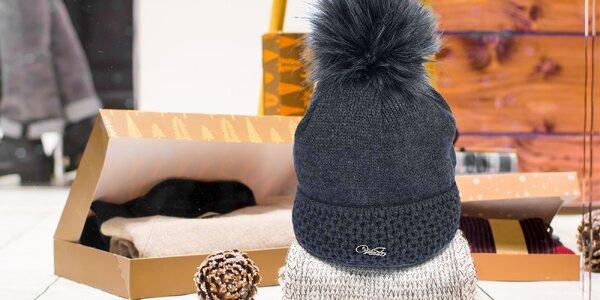 Dámske čiapky zateplené fleecom